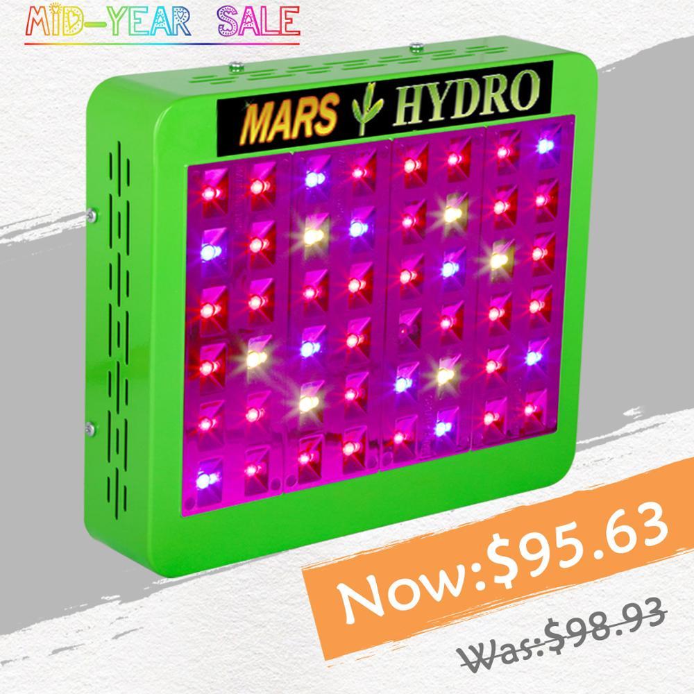 Mars Refletor Hidro 300 W Cresce A Luz LED Full Spectrum Veg/Bloom Switchable para Todas As Plantas de Interior e Flores crescente Phytolamp