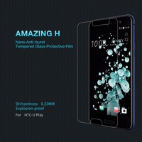 Nillkin For HTC U Play Protective Film H H Pro Nano Tempered Glass Film For HTC
