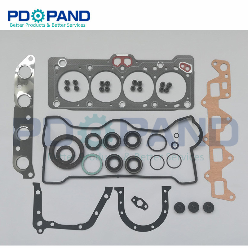 5AF 5A F 5A FE Full Engine Complete Gasket Set for TOYOTA Carina/Corolla/corona/sprinter 1.5L 1498cc 04111 15084/15080|Engine Rebuilding Kits| |  - title=