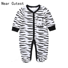 Near Cutest 2017 New Baby Romper Cotton Baby Boy Girl Clothes Romper Newborn Baby Clothes