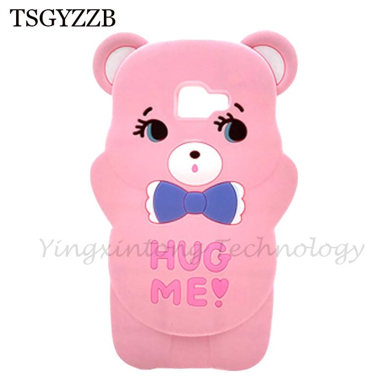 Samsung Galaxy J4 Plus Case Bear Pink