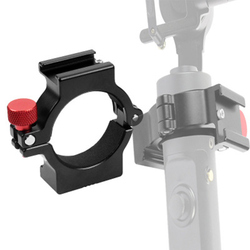 Zhiyun Smooth4 Gimbal Stabilizer Bracket BOYA Microphone Clip Universal bracket stability clamp Handheld gimbal accessories