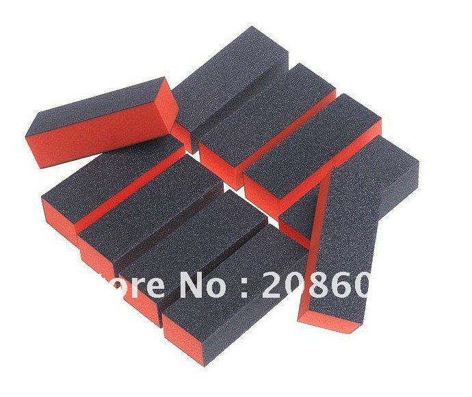 3 Sided Nail Buffer Block Sanding Polish Buffer Block Nail File Block Nail Art Manicure Tool For Nail Art Acrylic Freeshipping