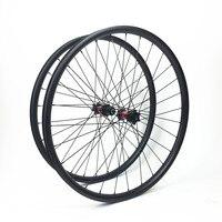 Углерода горный велосипед 29er колеса велосипеда части MTB Light оправа углерода 29er Горные Горный 29 ''33 мм Асимметричная Новатек колесной
