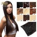 Реми Реми Волос Клип В Расширениях 120 Г Клип В Бразильских Наращивания Волос Натуральный Черный Клип В Человеческих Волос расширения