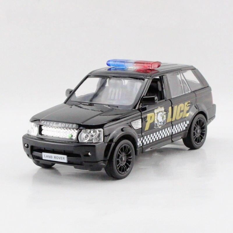 freeshipping children uni fortune range rover sport police model car 136 5inch diecast
