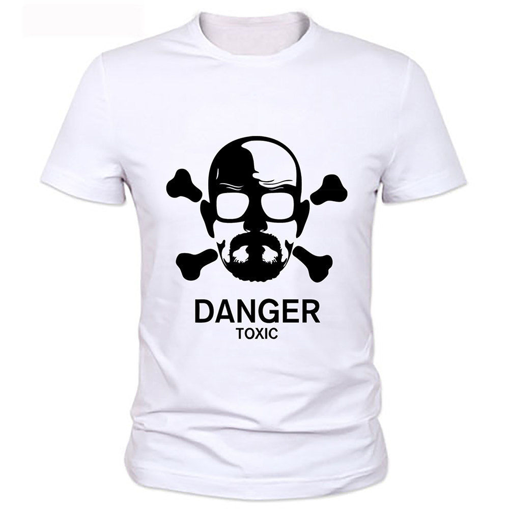 Breakin Bad Heisenberg I am danger Walter White Funny Joke Men T Shirt Tee
