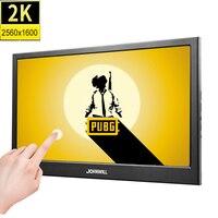 10,1 дюймовый 2 K сенсорный экран портативный компьютерный монитор ПК 2560X1600 ips HDMI PS4 Xbox360 lcd светодиодный дисплей планшета для Raspberry Pi