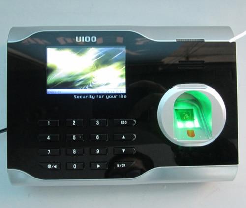 Zkteco U100 TCP/IP Fingerprint Time Attendance Fingerprint time clock With Free Software стоимость