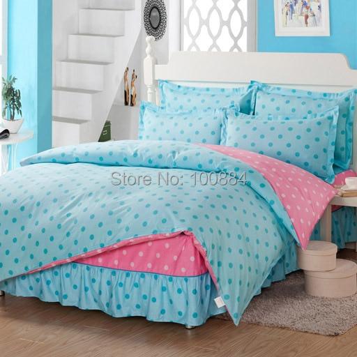popular polka dots comforter buy cheap polka dots comforter lots from china polka dots comforter. Black Bedroom Furniture Sets. Home Design Ideas