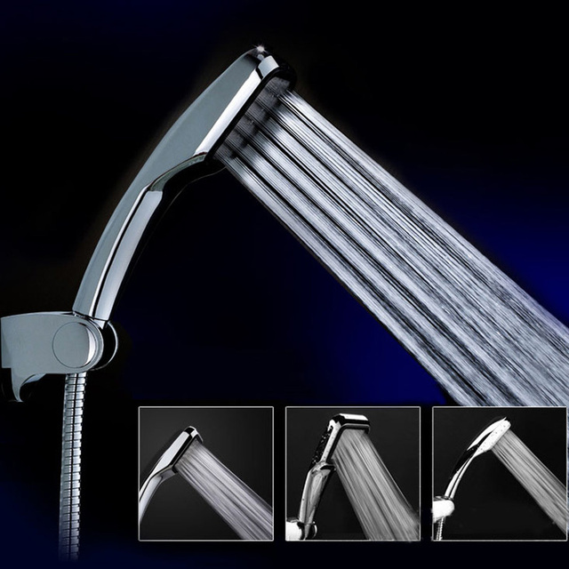 New 300 square holes rainfall showerheads pressurized shower water ...