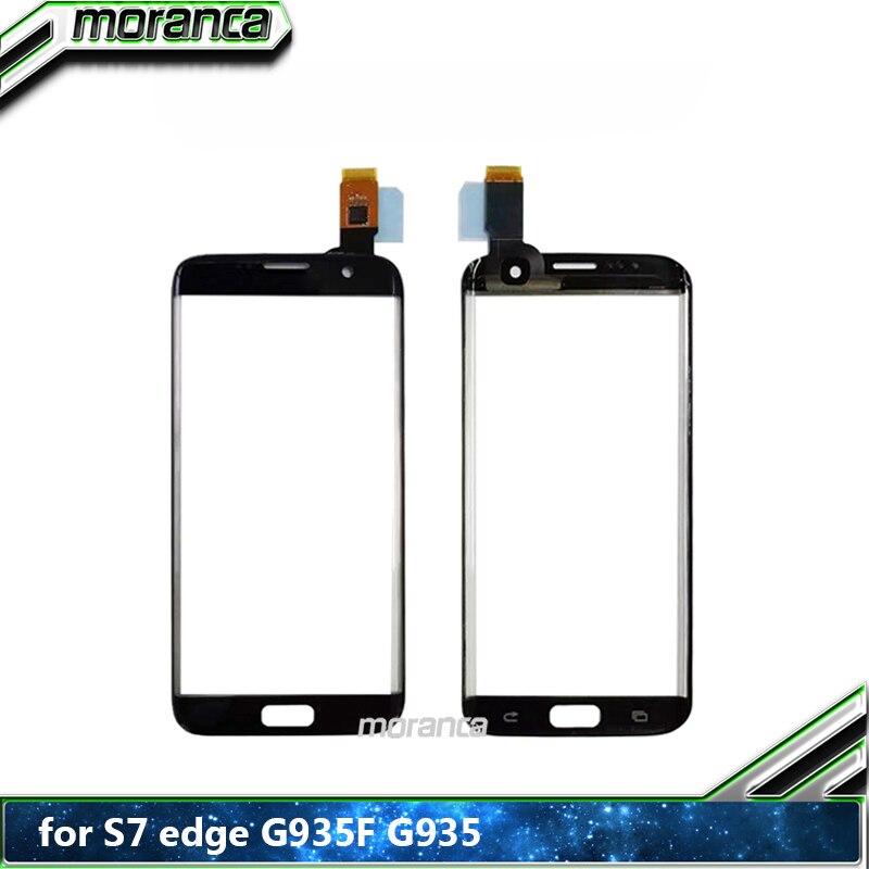 Haute qualité pour Samsung Galaxy S7 Edge G935F G9350 écran tactile numériseur avant verre panneau pièces de rechange
