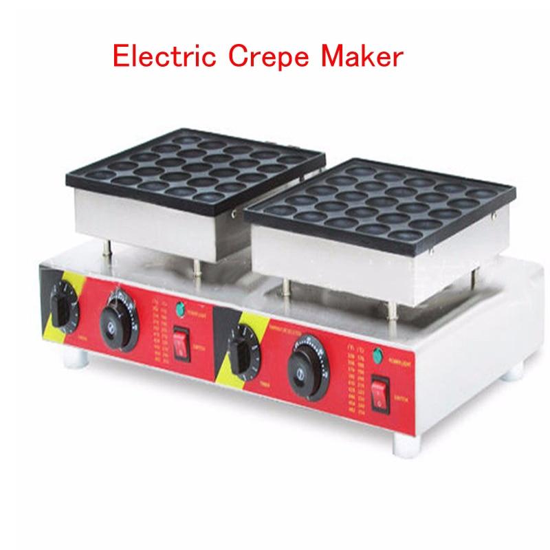 все цены на Electric Crepe Maker Household Double Muffins Machine Circular Pancake Making Machine Grill Pan NP-543 онлайн