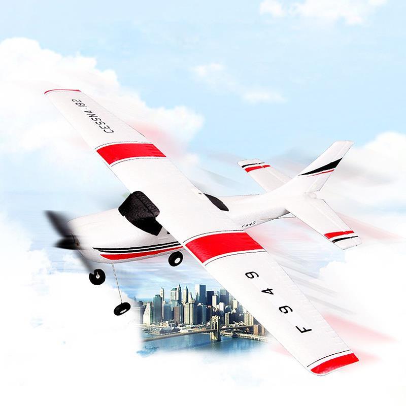 Oyuncaklar ve Hobi Ürünleri'ten RC Uçaklar'de Yeni Wltoys F949 Gökyüzü Kral 2.4G Radyo Kontrol 3CH RC Uçak Sabit Kanatlı Uçak VS WLtoys F929 F939 F959'da  Grup 2