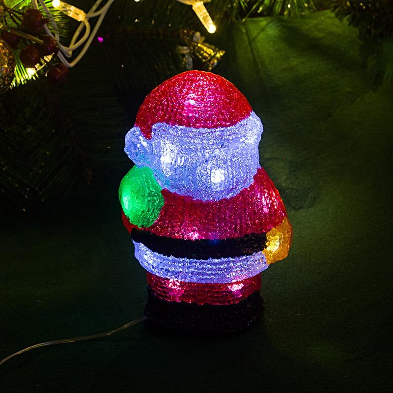 Large Christmas Airblown Inflatable Led Santa Xmas Lantern Home Yard Lawn Decor