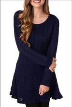 Women Causal Plus Size S-5XL Short Sweater Dress Female Autumn Winter White Long Sleeve