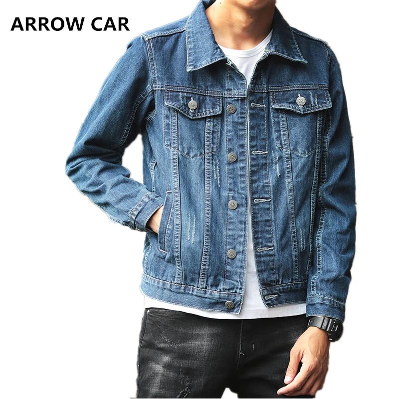 Hommes Jean veste printemps et automne tendance mode Slim décontracté adolescent denim veste de haute qualité Cowboy Chaqueta Hombre