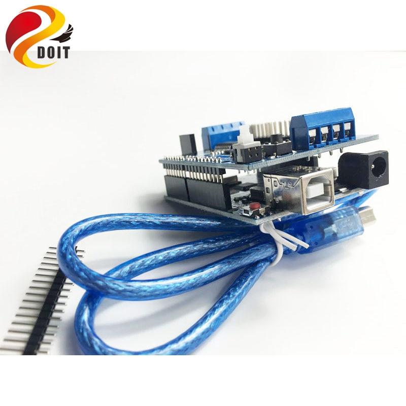 Official DOIT Robot Controller Development KIT For font b Arduino b font UNO R3 2 Way