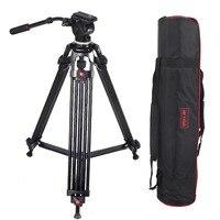JY0508 JY 0508 JIEYANG Professional штатив для камеры алюминиевый штатив Стенд DSLR гидравлическая головка с амортизатором штативы для видео съемки