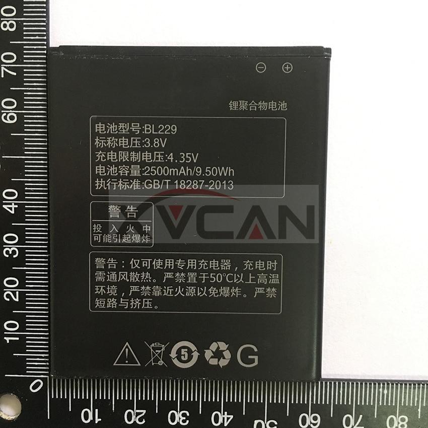 For Lenovo A8 Battery 2500mah BL229 Large Capacity Li-on Battery For Lenovo A8 ALPS A8 A806 A808t Smart Phone