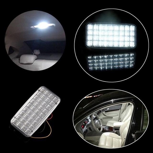 buy white 12v 36 led smd truck auto van vehicle car ceiling dome roof interior. Black Bedroom Furniture Sets. Home Design Ideas