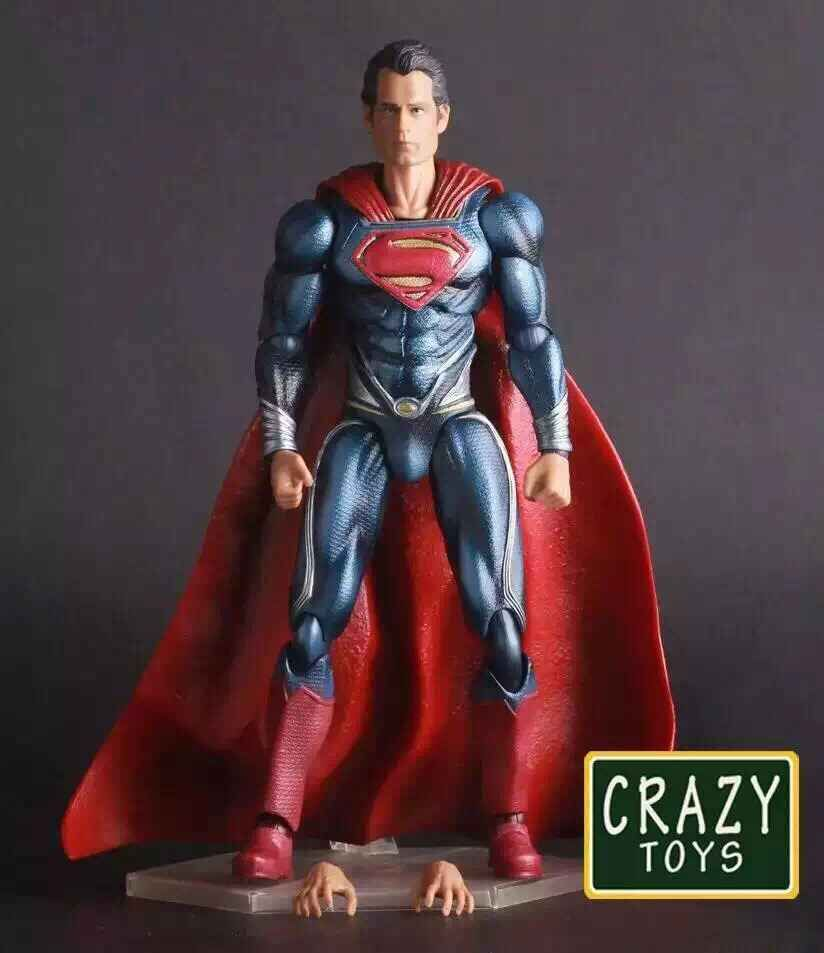 Crazy Toys Batman V Superman Dawn of Justice Variant PVC Action Figure Collectible Model Toy 27cm KT2281 family matching outfits kids girls and mom clothes floral print dress mom girls pleated party skirts mother and daughter dresses