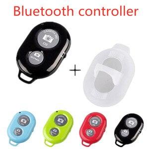 Image 1 - Ontspanknop Voor Selfie Accessoire Camera Controller Adapter Foto Controle Bluetooth Remote Knop Voor Selfie