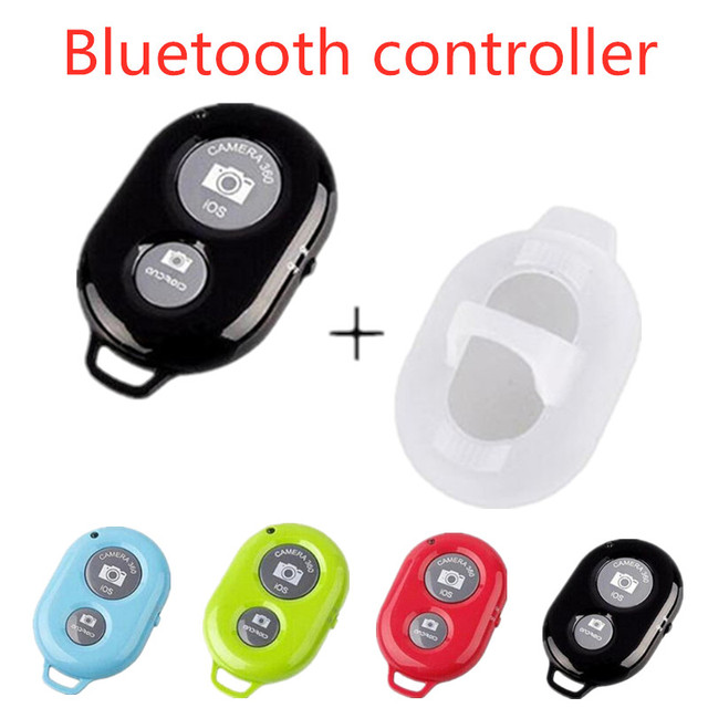 Ontspanknop Voor Selfie Accessoire Camera Controller Adapter Foto Controle Bluetooth Remote Knop Voor Selfie