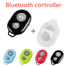 Shutter Release button for selfie accessory camera controller adapter photo control bluetooth remote button for selfie cheap FGHGF Canon Samsung selfie stick remote Control Wireless Plastic zpj005+ZPJ015 If it cannot use pls download the 10M remote control Distance(If no any Accessible)