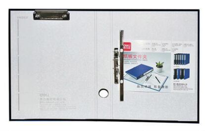 A4 картонная папка канцелярские принадлежности файл дней сбора данных мощный сшиватель 2-отверстие зажим+ с дисковым зажимом многофункциональная Двойная сила - Цвет: Синий
