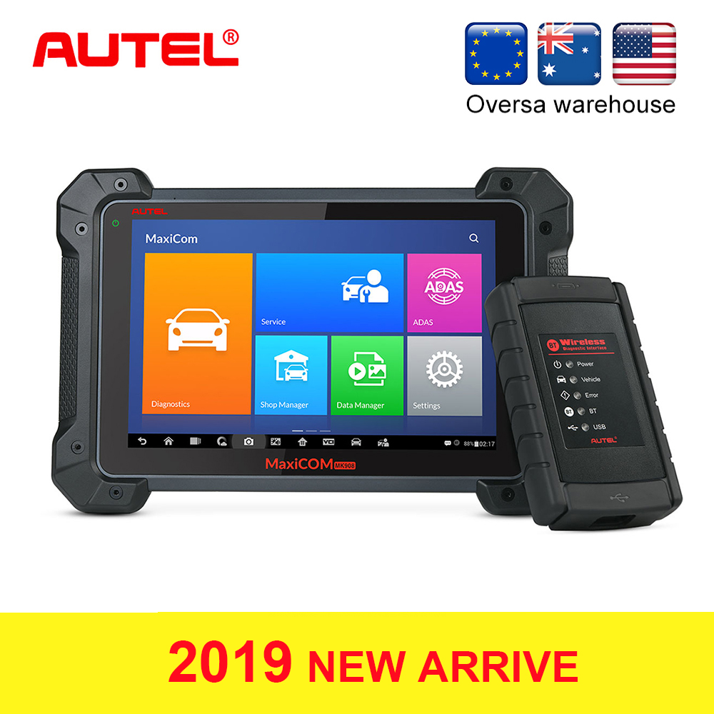Interior Accessories Autel Maxicom Mk908 Auto Full Obd2 Obdii Car Diagnostic Tool Ecu Coding Code Reader Scanner Obd 2 Scan Tool Pk Launch X431 Activating Blood Circulation And Strengthening Sinews And Bones
