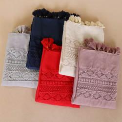Национальная одежда интимные аксессуары женские кружево ленточки шарф Тюрбан мусульманский головной платок оптовая Исламская хиджаб