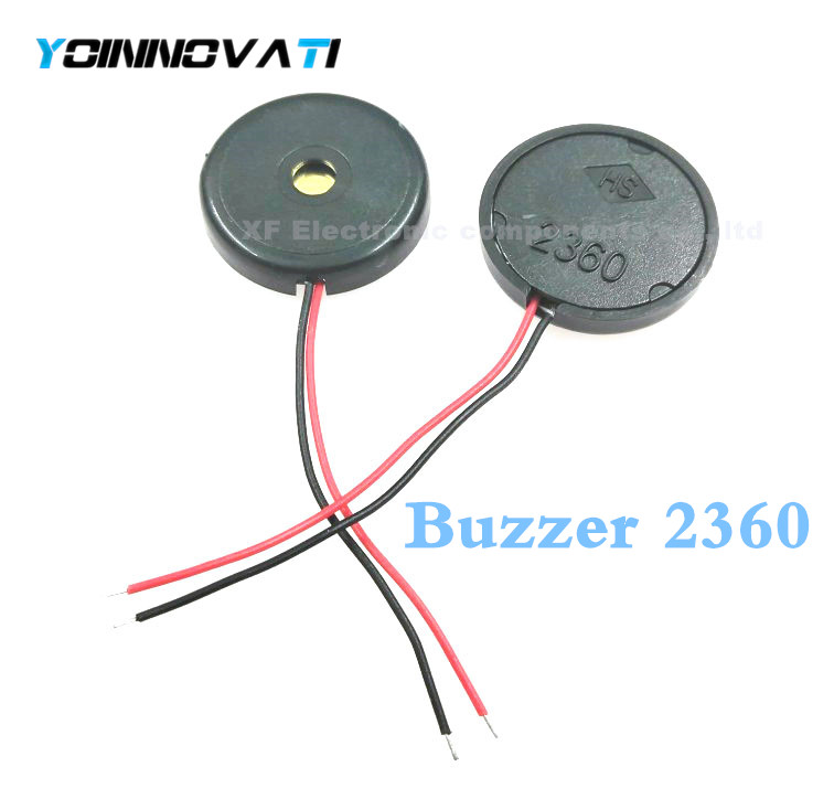 Free shipping 1000PCS LOT electronic buzzer alarm 22xH4mm AC 2360 HS free shipping Best quality