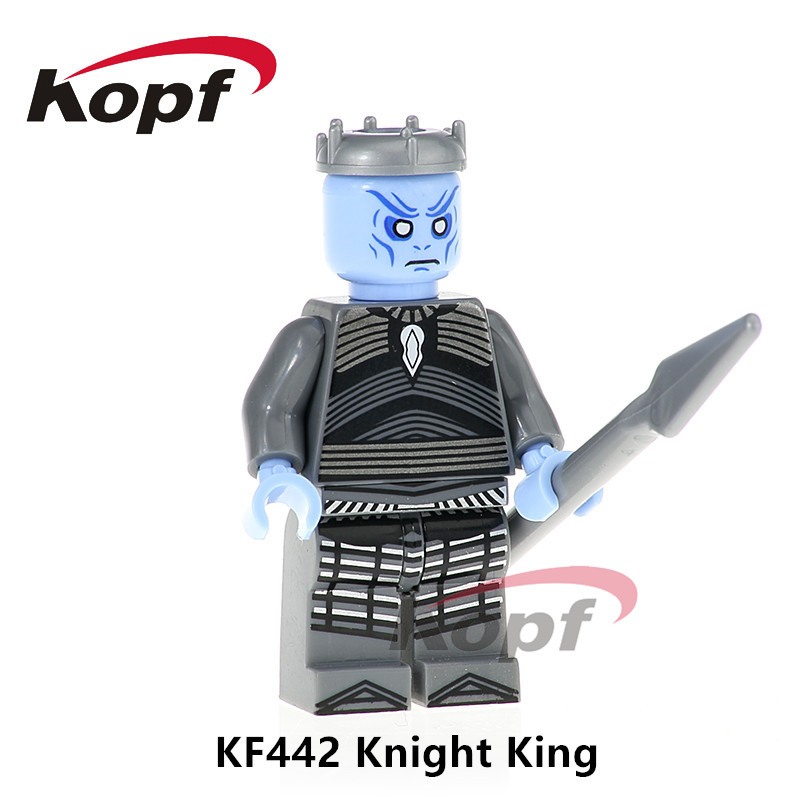 Building Blocks Single Sale Game of Thrones Knight King Meryn Tran Jamie Lannister Super Heroes Bricks Children Gift Toys KF442 single sale building blocks super heroes bob ross american painter the joy of painting bricks education toys children gift kf982