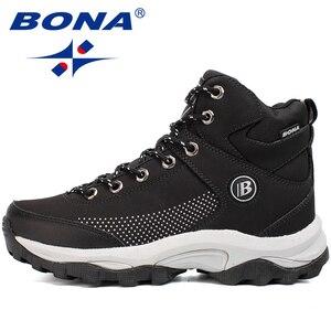Image 2 - BONA yeni popüler stil kadın yürüyüş ayakkabıları açık keşfetmek çok Fundtion yürüyüş Sneakers aşınma direnci spor ayakkabılar kadınlar için