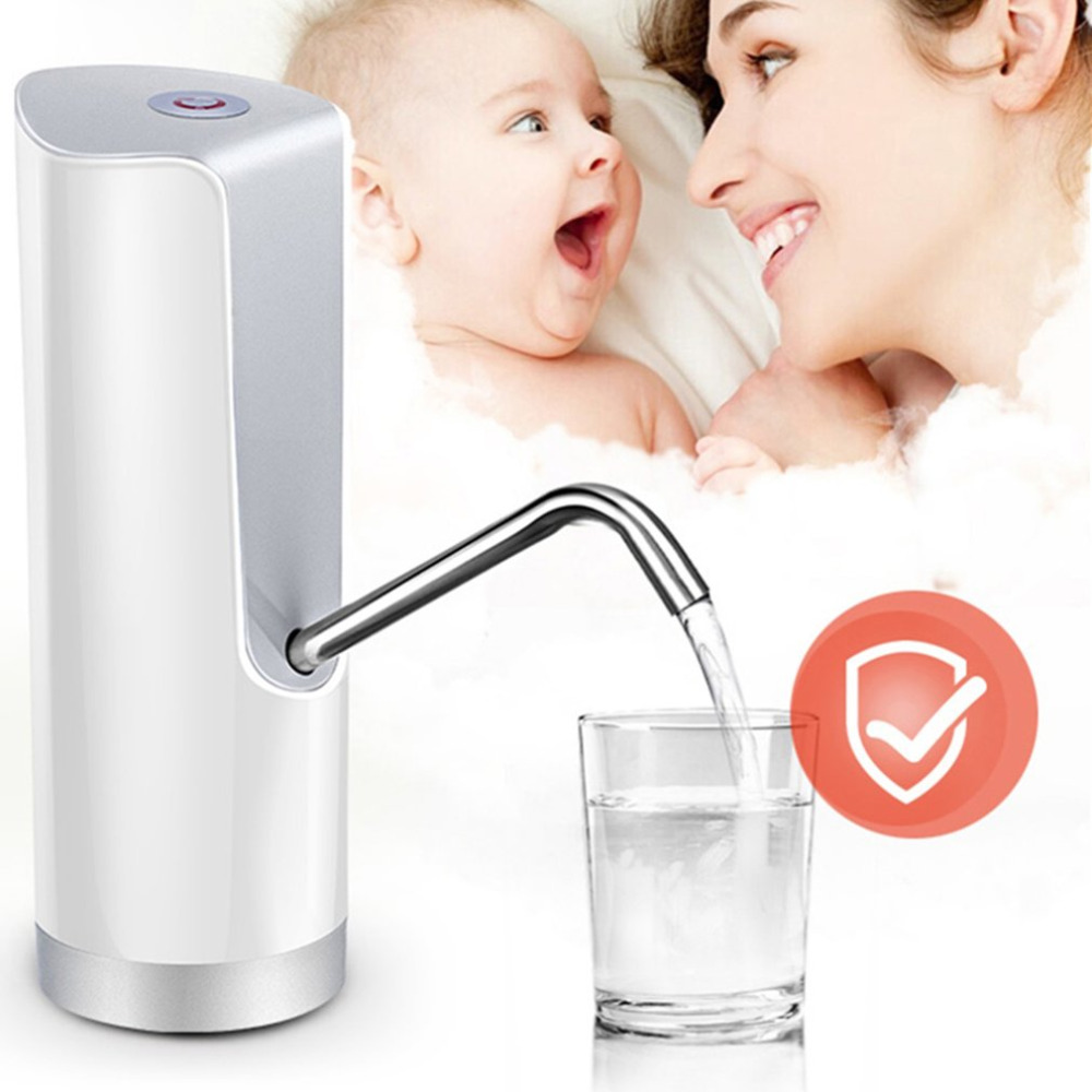 Drinking Water Pump Pump Dispenser Switch with Rechargeable Automatic Electric Water Bottle Dispensers Switch