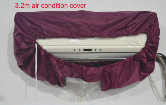 High quality Big size 3.2m AC cleaning cover Cleaning tools Air conditioning cover 3.2meters air conditioner cleaning cover