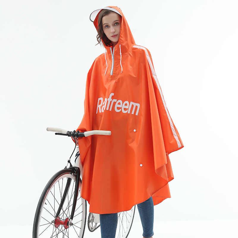 Rainfreem bicicleta Poncho Oxford senderismo impermeable para pescar nuevo diseño impermeable de lluvia