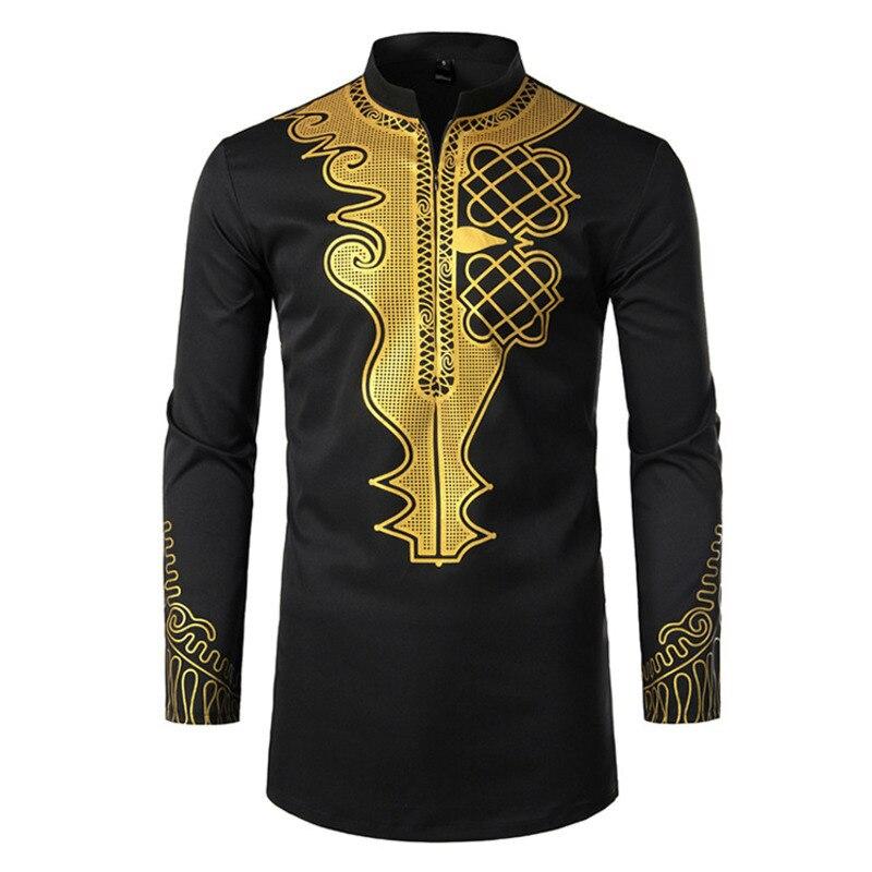 Islamic Clothing Kaftan Men's White Printing Tshirts Musulman Kippah Arab Zipper Placket Tops Moslim Clothing Saudi Arabia Robe