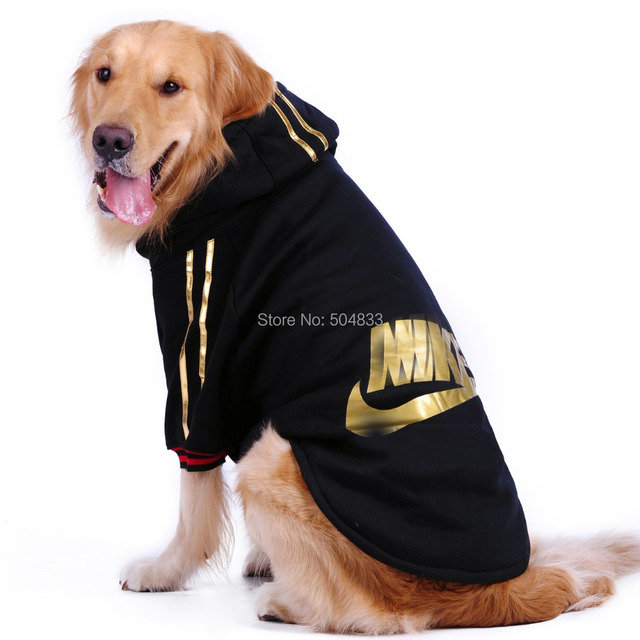 Large Dog Hoody Coat Big Dogs Poly Cotton Tracksuit Winter ...