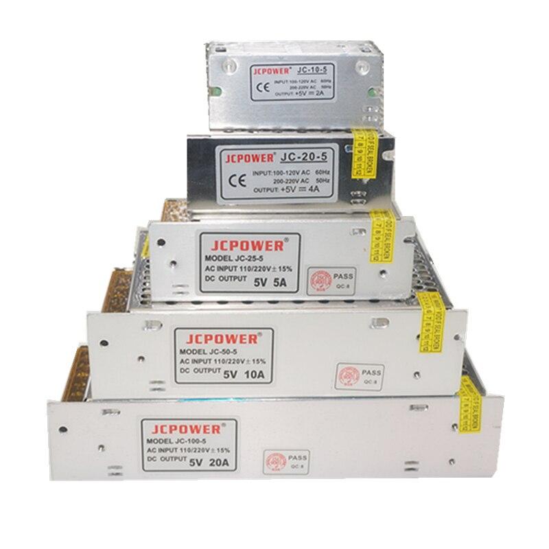 Neue DC5V 2A/3A/4A/5A/6A/8A/10A/12A/20A/ 30A/40A/60A SwitchLED Power Versorgung Transformatoren Für WS2812B WS2801 APA102 8806 LED Streifen