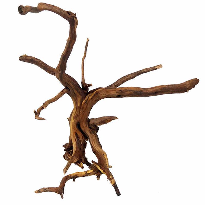 Новый 1 шт. декоративный Дрифтвуд аквариум натуральное дерево ствол дерева аквариум аквариумные растения Украшение на новый год
