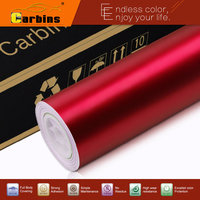 Matte Chrome Red Vinyl Car Wrap 1 52 20m Air Bubble Free