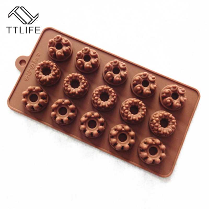 Baking & Pastry Tools Home & Garden Ttlife Square Gift Box Shape Silicone Chocolate Mold Ice Cube Tray Fondant Cookie Baking Dish Jelly Sugarcraft Pudding Bakeware
