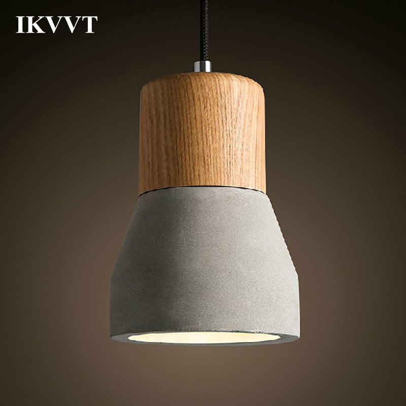 IKVVT Modern Pendant Light Hanging Lamp Creative Living Dining Room Bedroom Aisle Children Room Cement Small Pendant Lamp pu flower pot simple creative children room bedroom living room dining room lamp ufo pendant light fg388