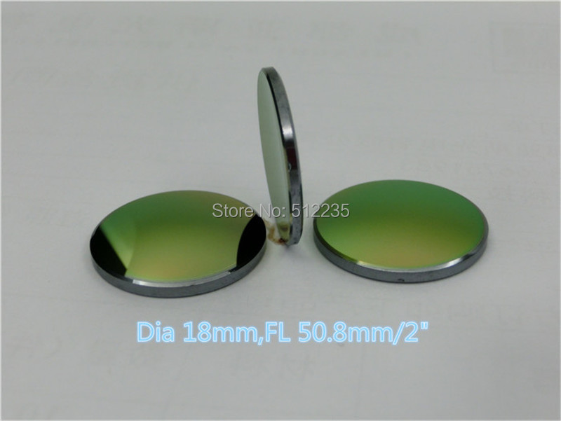 Free Shipping High Quality GaAs Focus Lens CO2 Laser Engraving Cutter DIa. 18mm Focal 50.8mm 2 high quality znse focus lens co2 laser engraving cutter dia 19mm fl mm 1 5 free shipping