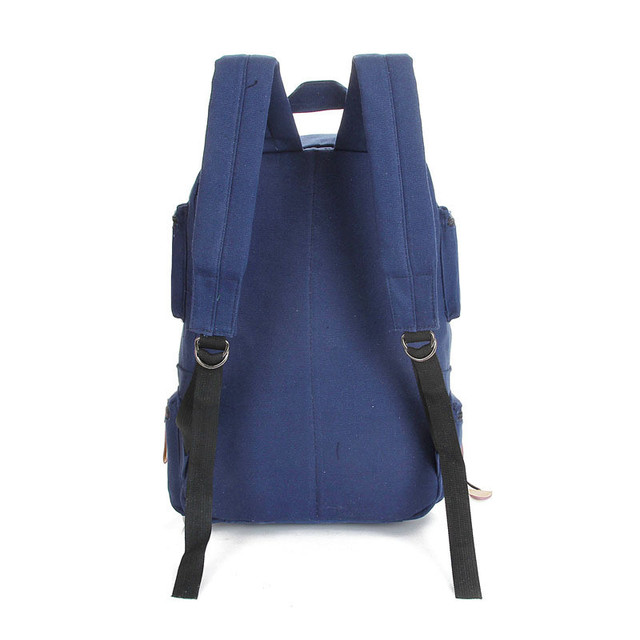 Fashion backpack women shoulder Bag School bags for teenager girls boys casual solid backpack school 2