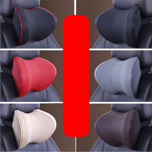 Image 4 - Car Seat Head Neck Rest Massage Auto Pillow Space Memory Neck Headrest Car Cover Vehicular Pillow Seat Headrest Accessories