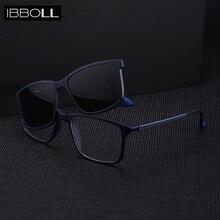 купить ibboll Luxury Polarized Men Sunglasses 2018 for Women Clip-on Brand Designer Sun Glasses Fashion Mens Sunglass Unisex 6205 по цене 948.2 рублей