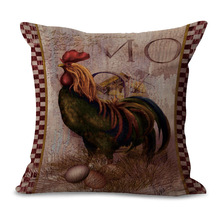 Chicken Decoration Pillow Cover